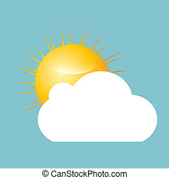 雲, 太陽