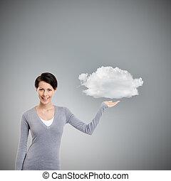 雲, 指すこと, ジェスチャー