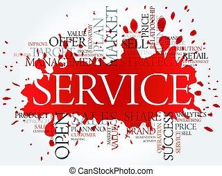 雲, 概念, 単語, サービス, ビジネス