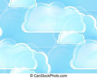 雲, 計算