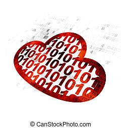 雲, 計算, concept:, 雲, ∥で∥, コード, 上に, デジタルバックグラウンド