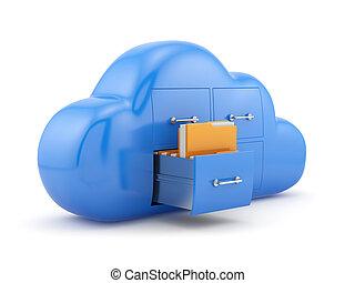 雲, 貯蔵, 概念