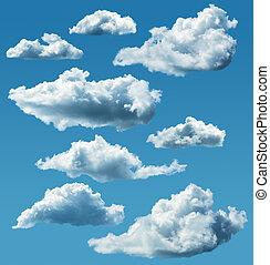 雲, 隔離された, コレクション