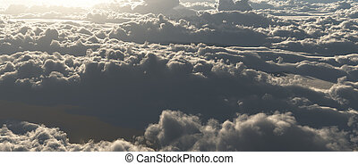 雲, scape