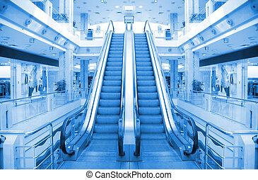 電動扶梯, 在, 貿易中心