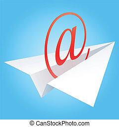 電子メール, シンボル。