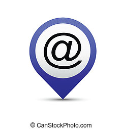 電子メール, ボタン
