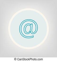 電子メール, 印, アイコン