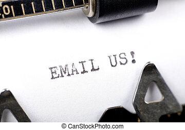 電子メール, 私達