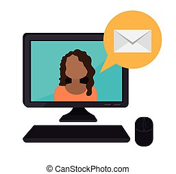 電子メール, design.