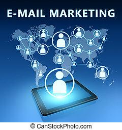 電子郵件, 銷售