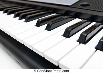 電子鋼琴, 人物面部影像逼真, 鍵盤