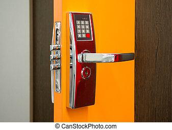 電子, 安全, 門鎖