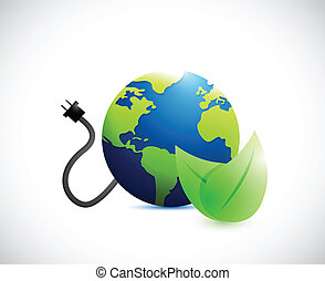 電子, 概念, エコロジー, 力