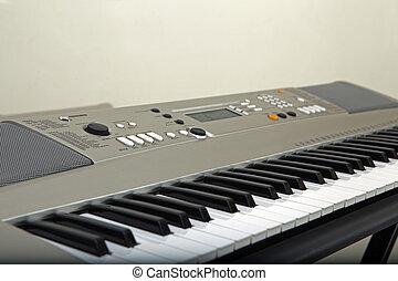 電子, 鋼琴, 人物面部影像逼真, 鍵盤