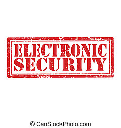 電子, security-stamp