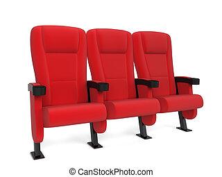 電影院, 椅子