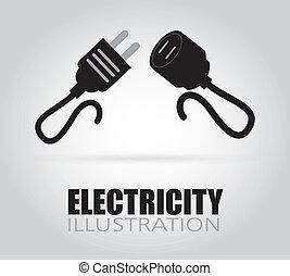 電気である, デザイン