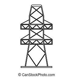 電気タワー, アイコン
