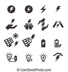 電気, アイコン