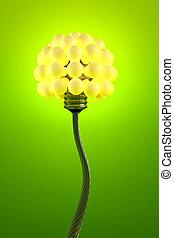 電気, 新しい, 概念