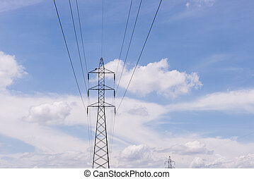 電気, transmittion, タワー, 2