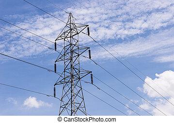 電気, transmittion, タワー, 4