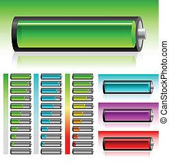 電池, セット