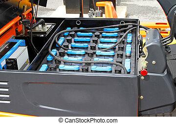 電池, フォークリフト