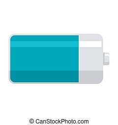 電池, ベクトル, アイコン