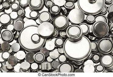 電池, 大きさ, 様々, lithium