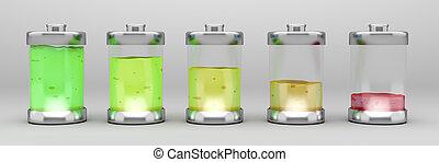 電池, 液体