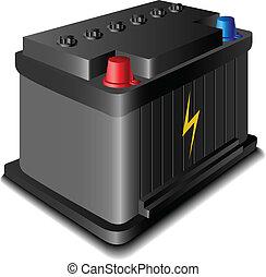 電池, 自動車