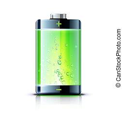 電池, 表示器, レベル