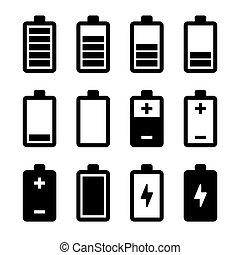 電池, 集合, 圖象