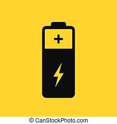 電池, pictogram, ベクトル