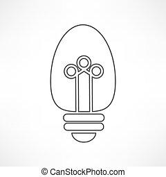 電球, アイコン