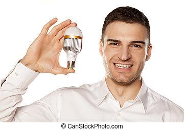 電球, リードした