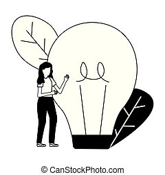 電球, 女性ビジネス