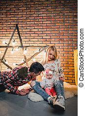 電球, 星, ∥(彼・それ)ら∥, 親, 背景, 子供