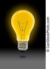 電球, 黄色灯