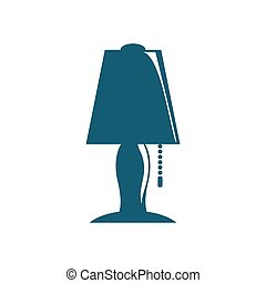 電球, nightstand, ライト