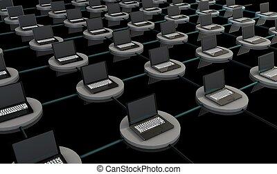 電腦, 网絡