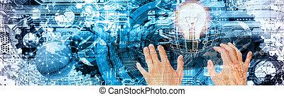 電腦, cyber, 因特網技術