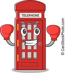 電話ボックス, 形, ボクシング, 特徴, マスコット