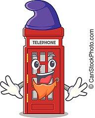 電話ボックス, 形, 妖精, 特徴, マスコット