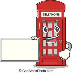 電話ボックス, 形, 板, 特徴, マスコット