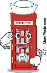 電話ボックス, 形, 船員, 特徴, マスコット