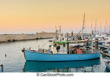 ∥電話番号∥, jaffa, aviv, 漁船, 古い港湾