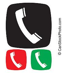 電話, アイコン